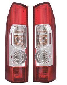 RAM PROMASTER VAN 2014-2020 RIGHT LEFT TAILLIGHTS TAIL LIGHTS REAR LAMPS PAIR