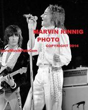 "ROD STEWART PHOTO $2 & FACES & RON WOOD 8x11"" -1972- SALE $2 HIGH QUALITY - RARE"