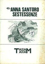 SANTORO Anna, Sestessenze. Supplemento a Tam Tam 42, 1985