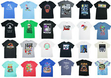 Movie/TV/Music Pop Culture Graphic Short Sleeve T Shirt NWT Pick Style/Size
