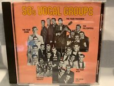 50's Vocal Groups by Various Artists (CD, 1989, K-Tel Distribution)