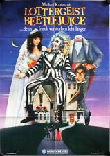 Lottergeist Beetlejuice German video promo movie poster A1 Baldwin, Keaton Davis
