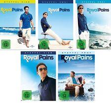 20 DVDs * ROYAL PAINS STAFFEL / SEASON 1 + 2 + 3 + 4 + 5 IM SET # NEU OVP +