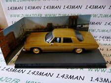 JB124E 1/43 IXO 007 JAMES BOND Angleterre : CHEVROLET Bel AIr Live and let die