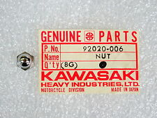 Kawasaki NOS NEW  92020-006 Cap Nut 6mm KZ KZ400 1975-77