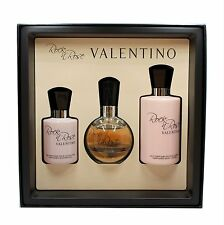 VALENTINO ROCK N ROSE 3 PIECE GIFT SET EAU DE PARFUM NATURAL SPRAY 50ML NIB