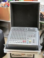 Soundcraft Spirit 600 powered mixer amp + flight case, 2nd for repair/spares