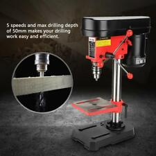 Mini Bench Drill Press Stand Workbench Mounted 350w 5 Speed 50mm UK Plug 230v
