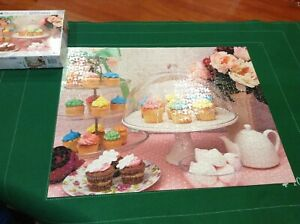 Puzzlebug - Tea and Cupcakes Jigsaw Puzzle - 1000 Pieces