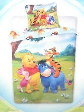 Disney Baby Kinder Bettwäsche Winnie Pooh bunt 135x100 60x40