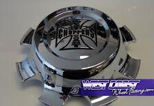 Jesse James Lawless 8 Chrome RIM Wheel Replacement Center Cap PART#7430-16