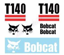 Bobcat T140 Skid Steer Set Vinyl Decal Sticker Aftermarket