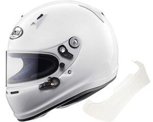 Arai SK-6 Racing Helmet Large with FREE SPOILER Go Kart Karting Race Racing