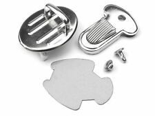 Set Of Metal Thumb Catch Bag Lock Clasp Fastener Closure Bags Leather DIY Silver