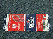 2013 World Series Game 8 Boston Red Sox Ticket 2