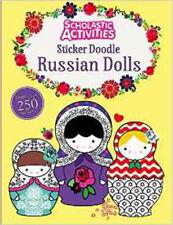 Sticker Doodle Russian Dolls (Scholastic Activities), New, Jillian Phillips Book
