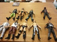 WWE JAKKS MANKIND ROCK KANE  STEVE AUSTIN WRESTLING 9 FIGURE TITAN TRON BUNDLE