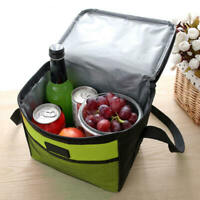 Insulated Lunch Bag For Women Men Kids Thermos Cooler Tote Food Lunch Box New