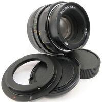 SERVICED HELIOS 44m Lens Canon EF Mount 1300D 200D 800D 750D 760D 800D