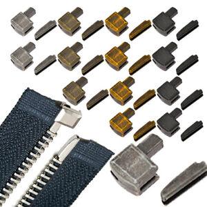5 Sets Metal Zipper Repair Stopper Open End Sewing Tool Acessories Craft au
