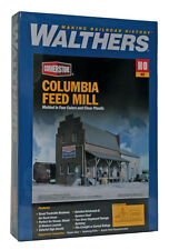 3090 Walthers Cornerstone Columbia Feed Mill w Loading Dock HO Scale