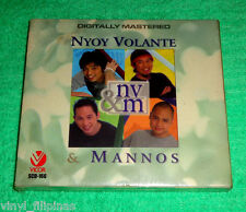 PHILIPPINES:NYOY VOLANTE,MANNOS - NV&M,CD,ALBUM,OPM,Tagalog,Acoustic,SEALED,RARE