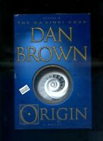 rare DAN BROWN signed lstED ORIGIN hardcover EBAY CHEAPEST