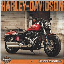 HARLEY-DAVIDSON Motor Cycles - 2018 Mini Calendar by DateWorks