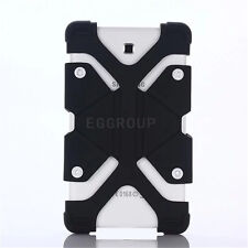 For Amazon Fire 7 7th Gen 2017 Tablet Shockproof Soft Silicone Case Cover Black