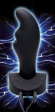 Zeus Electrosex Electro Zinger Rippled E-stim Silicone Automatic Plug