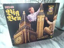 Vintage Wrebbit PUZZ-3D 3 Dimensional Puzzle Big Ben 1483 pcs New