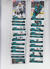 16/17 OPC San Jose Sharks Team Set w/RC and Inserts - Marleau Dell RC +