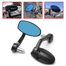 "7/8"" Universal Bar End Rearview Side Mirrors For Yamaha FZ8 MT10 MT09 MT07 FZ09"