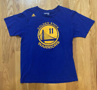 Klay Thompson Golden State Warriors T Shirt Large Adidas Shirt Big Logo #11 Hot