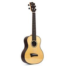 Kmise Solid Spruce Top Tenor Ukulele Hawaii Guitar 26 Inch Rosewood Back Bridge