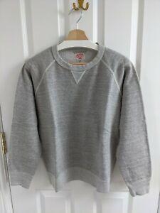 The Real McCoy's grey sweatshirt