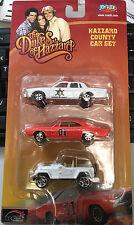 Joy Ride Dukes of Hazzard General Lee 1969 Dodge Charger 1:64 3 car set jeep