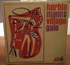 Herbie Mann – Herbie Mann At The Village Gate lp Us Issue 1966 ATLANTIC 1380