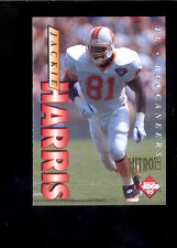 1995 Collector's Edge JACKIE HARRIS Tampa Bay Buccaneers 22 K Gold Nitro Card