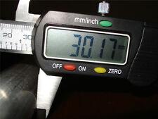 De Aluminio Redonda Bar / Rod - 30mm De Diámetro X 200mm De Largo Nuevo