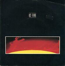 U2 Fire J. Swallo 45RPM Record Vinyl WIP 6679 1981 Island Records Bono The Edge