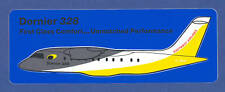 Dornier 328 Eastwest Airlines German Defunct 1995 Label