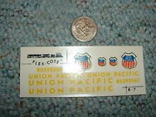 Flex-Cote decals HO R-7 Union Pacific  F162