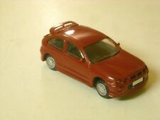 MG ZR 160 3 Door built in Solar Red LHD by K & R Replicas 1/43rd scale