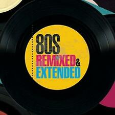 80S REMIXED & EXTENDED – V/A 3CDs (NEW/SEALED) Wham Rick Astley Billy Ocean