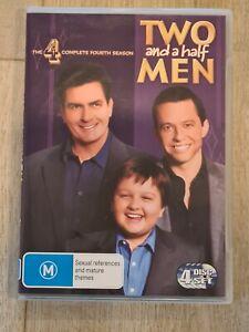 Two and a Half Men Season 4 DVD - Region 4 FAST POST