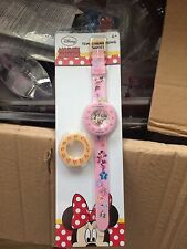Disney Minnie mouse Children's time teaching Watch