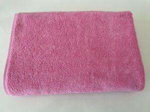 "100% Cotton Extra Large Oversized Bath Towel Pink Bath Sheet 40x80"""