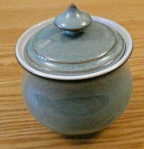 Denby Regency Green Lidded Classic Sugar Bowl. New & Unused