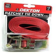 """Ratchet Tie Down Correa Max Carga 350 Kg 4.5 Mtr X 25 Mm 1 """"Correa de remolques de barcos"""